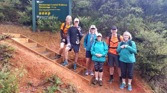Go Great Barrier Island - Day Tours: The last day ready for a flat walk around the coast