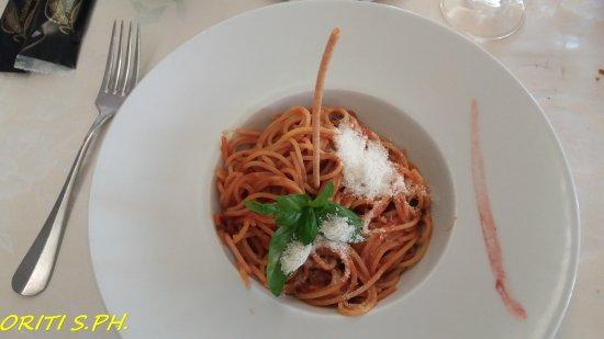 Hotel Lo Zodiaco: spaghetti al sugo