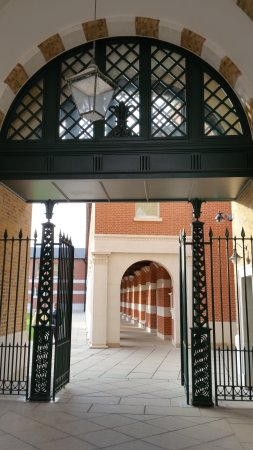 entry to the quad