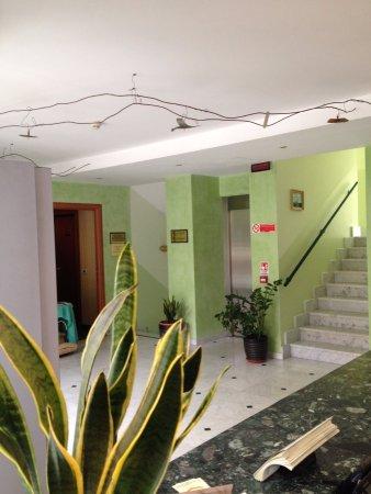 Hotel Rigolfo : reception