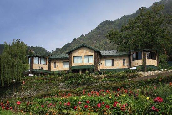 Shervani Hilltop: Hotel View