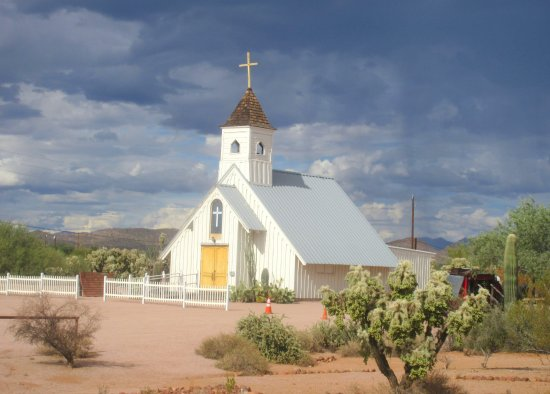 Elvis Church, Superstition Mountain Museum, Apache Junction