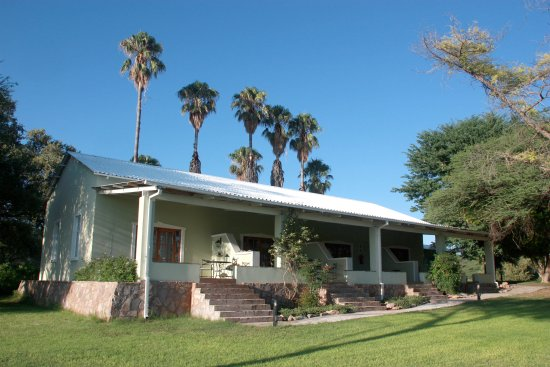 Tsumeb, Namibia: Guest building of Ghaub Nature Reserve & Farm
