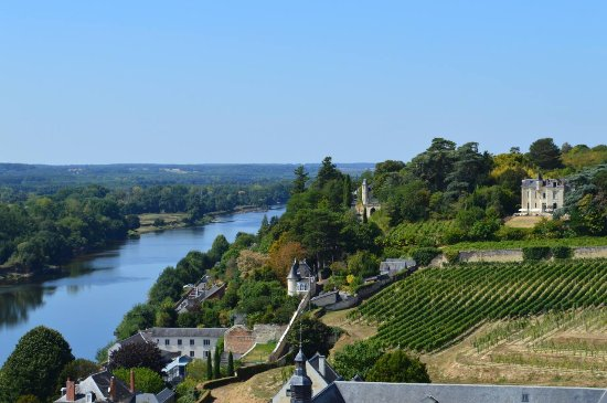 Nueil sur Layon, Francia: The Loire at Chinon