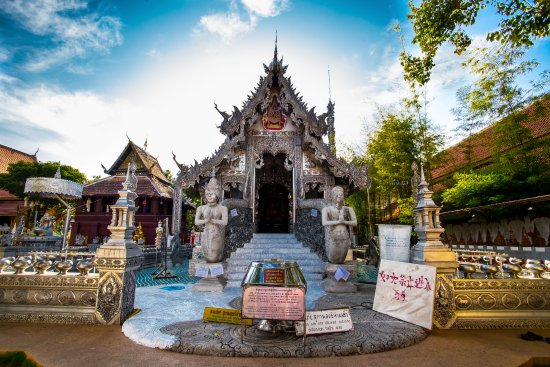 Photo of Tourist Attraction Wat Sri Suphan at 100 ถนนวัวลาย, Chiang Mai 50100, Thailand