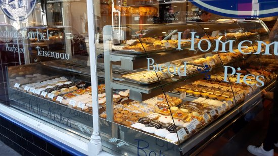 Popty Conwy Bakery: The window display to whet, grind, and polish your appetite to a keen edge