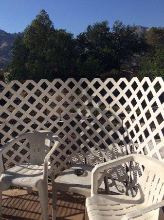 Three Rivers, كاليفورنيا: Балкончик