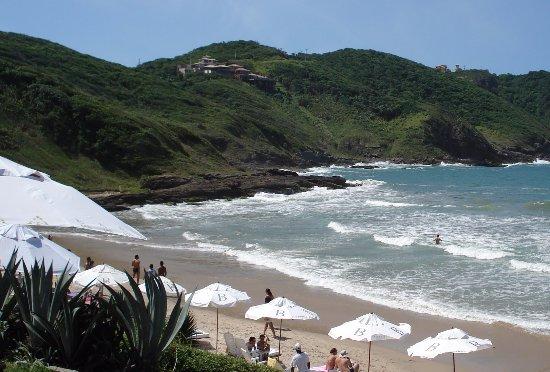 Brava Hotel: Vista da praia Brava