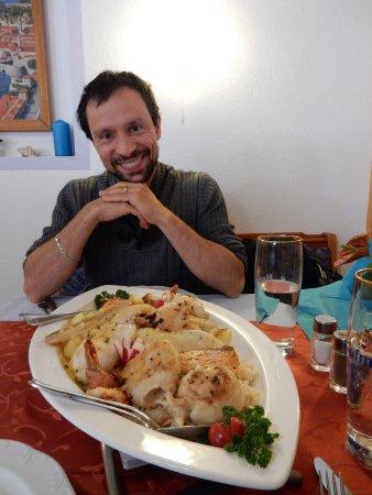 Eichstatt, Duitsland: Il piattone di pesce per due