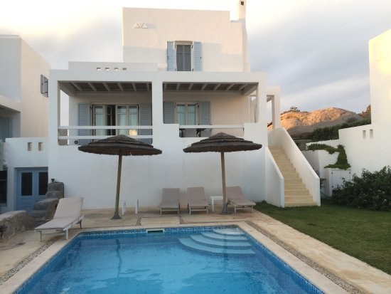 Agios Prokopios, اليونان: Villa with private pool