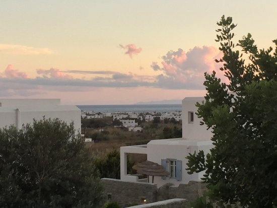 Agios Prokopios, اليونان: view from balcony