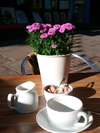 Monmouth, UK: Great cup of coffee!