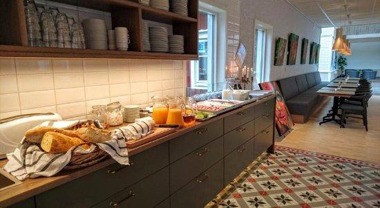 Boden, Swedia: Frukostbuffé