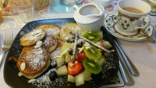 Ben View House: Mumm, les pancakes, ne ratez pas ça si vous logez au Ben View Guest house.