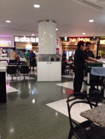 Indooroopilly, Australia: restaurant in shopping centre