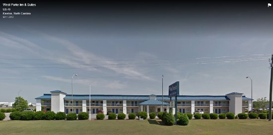 Kinston, NC: Front of motel