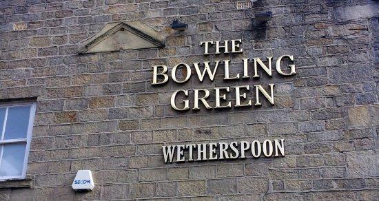 Otley, UK: Pub Wall Sign