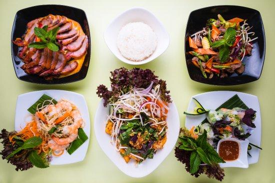 Monsoon Glockenbach Restaurant: das Augen isst mit