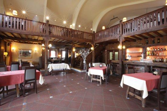 Ittre, Βέλγιο: salle de reception et restaurant