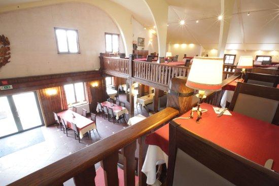 Ittre, Βέλγιο: vue de la mezzanine