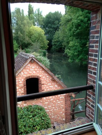 Condeau, Francja: View from Room 4.