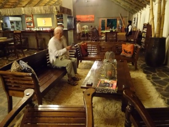 Blyde River Wilderness Lodge: Bâtiment principal intérieur