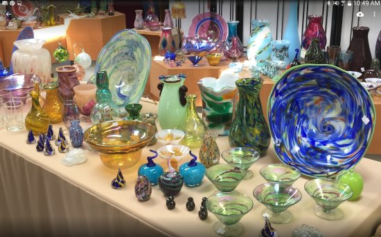 Buckhannon, WV: Glass art you can purchase in the gift shop