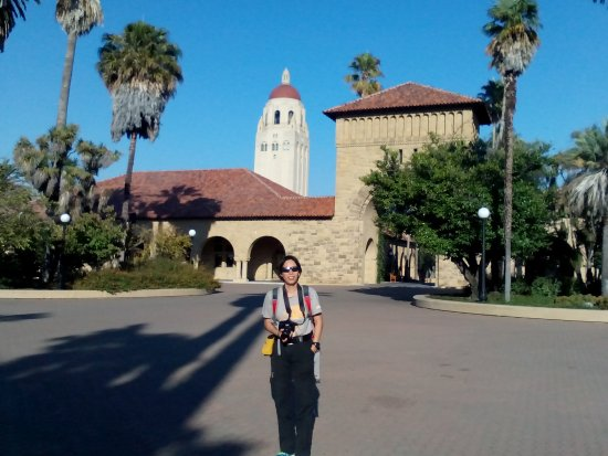 Palo Alto, CA: Hoover Tower at d back1