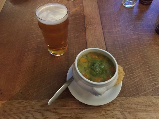 Anglesea Arms: Tasty Soup!