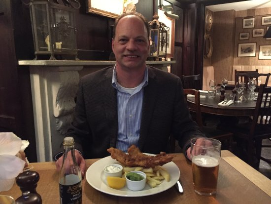 Anglesea Arms: Great Fish and Chips!