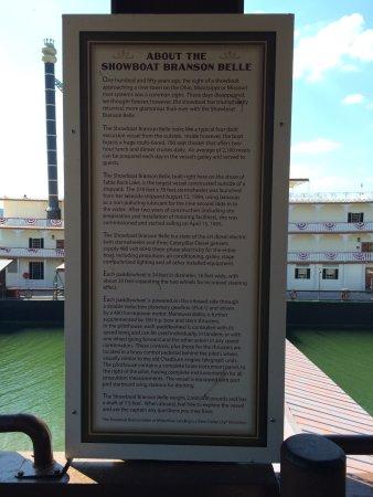 Showboat Branson Belle: History of the Belle