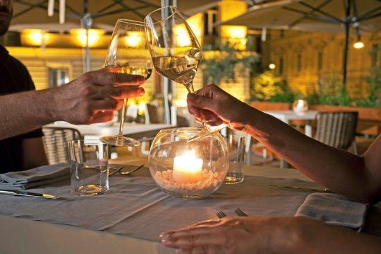 aperitivo in terrazza - Foto di Fiore Cucina Flexiteriana, Roma ...