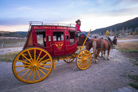 The Ranch at Rock Creek: A fall ride on our restored Wells Fargo Stagecoach