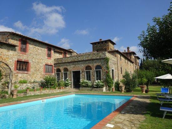 Castello di cafaggio updated 2019 prices lodge reviews for Masini terrecotte impruneta