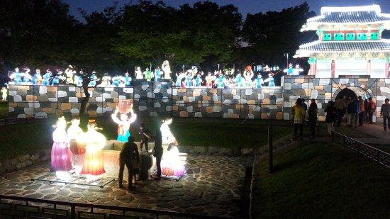 Jinju, Zuid-Korea: 2015년 진주유등축제