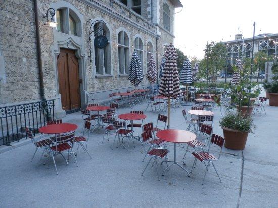 patio seating bild von restaurant spitz za¼rich tripadvisor