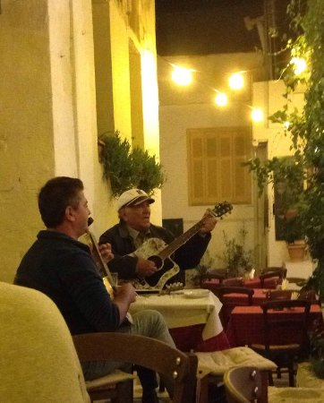 Taverna Alexandros: Authentic Greek Music really adds to the evening.