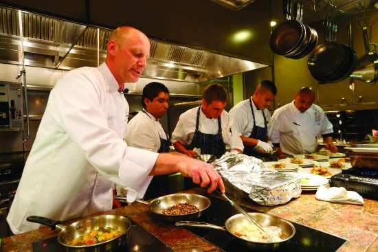 Cal-A-Vie Spa and Resort: Cooking Demonstrations