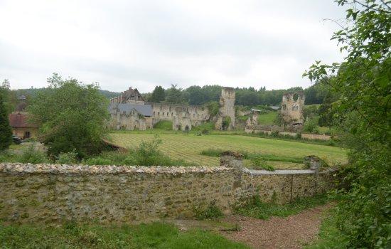 Haute-Normandie, Frankreich: il parco e le rovine