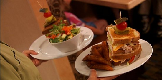 Fixin's Homestyle Eatery: The full menu features homestyle favourites.