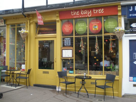 Bay Tree Cafe: front entrance