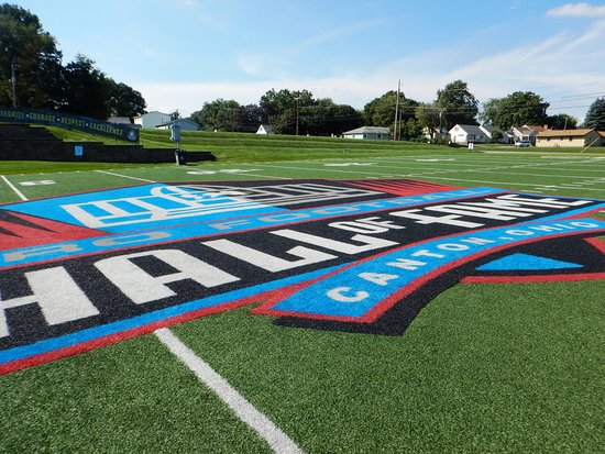 Pro Football Hall of Fame: The field