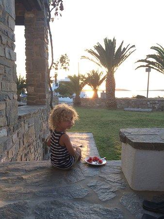 Pounta, Greece: Un meraviglioso tramonto