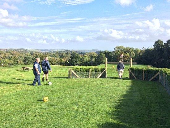 St Austell, UK: Cornwall Football Golf