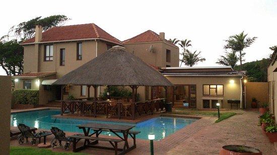 Umkomaas, Südafrika: vista desde mi apartamento/habitacion