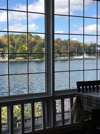 The Riverview Restaurant: Patio View is wonderful