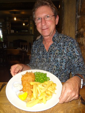Eight Bells : Fish & Chips for the Mr.