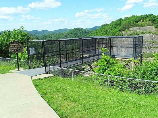 Pikeville, KY: the overlook cage