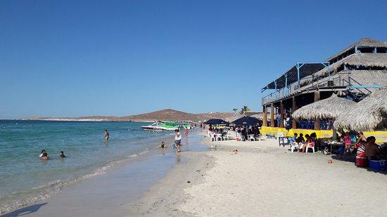 Playa El Tecolote Beach Restaurante En La