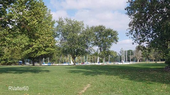Saint Marys, OH: A beautiful little marina is located right next to the park.